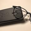 JINSで無料アップグレードの薄型レンズは、Zoffでは有償でした