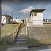 グーグルストリートビューで駅を見てみた 高山本線 東八尾駅