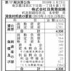 株式会社目黒雅叙園 第17期決算公告