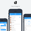 【チャットボット開発に便利】Sketch対応のチャットUIデザインキット「Chat UI Design Kit for Sketch」(30+画面)