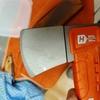 【キャンプ】ハスクバーナのハチェットを買ってみた【手斧】【メンテナンス】