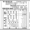 株式会社アグリメディア、株式会社アグリ・コミュニティ 合併広告