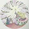 「グリム童話ぬりえブック」本の紹介とP22の作品