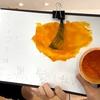 【エンシェールズカラーバター】マンゴーオレンジでブリーチなしの黒髪に染めてみた