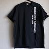 ENGINEERED GARMENTS × SUNRISE MARKET 別注 Printed Cross Crew Neck T Shirt EG Big Logo Ver.2