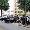「優生手術被害者とともに歩むみやぎの会」による仙台高裁と国への署名活動