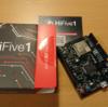 Wi-Fi モジュールの付いたRISC-Vボード HiFive1 Rev.Bが届いた