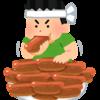大食い芸能人とか大食い系YouTuberは摂食障害なんだろうけど・・・・・・