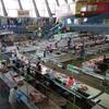 庶民の台所、ウクライナはキエフのローカル市場で肉を買う