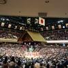 初めての相撲観戦に行ってきました、レポ