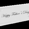 愛して止まない娘から父の日を祝ってもらう幸せなパパ。