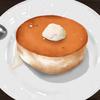 【イラスト】【高カロリー】スフレパンケーキ