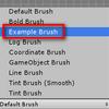 【Unity】タイルマップ - ブラシを自作する方法