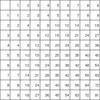 罫線入りの 10 行 10 列の表の画像を大きくリサイズして ocr してみる(Python + Tesseract)