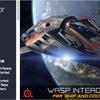 Wasp Interdictor VRゲームで使える!コックピットも丁寧に作り込んである宇宙船3Dモデル