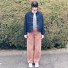 UniqloU2019ss完売デニムジャケットを早速着てみました♡