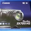 Canon「PowerShot SX720 HS」ゲットーっ!