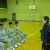 口之津海上技術学校 校歌練習(1年生) 4月17日