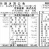 京楽産業株式会社 第56期決算公告
