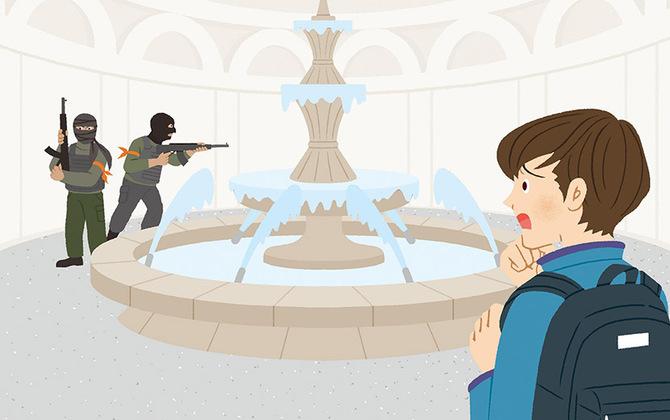 海外旅行中にテロ勃発で街はパニック状態に…。あなたが取るべき行動は? ー防災行動ガイド