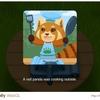 Flip n Fry レッサーパンダのクッキングシミュレーター