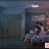 寝室が映画館【popIn Aladdin】で一緒に居られる時間をめいっぱい楽しむ