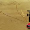 日産GT-Rが地上絵で世界記録