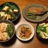 生利節と野菜の煮物