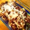 【完全オリジナルレシピ】ジャガイモとエノキのスモーキーミートグラタンの簡単レシピ!