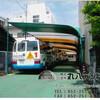 幼稚園の固定テント 【バス乗り場】