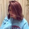 真似したいローラの髪型ライトバング!!2017年注目のピンクアッシュベージュが可愛い!!