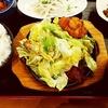てけてけ@大井町【GoToイート】(半熟目玉焼きてけてけのチャンピオン焼き(合盛)定食+10円生ビール)