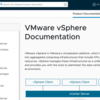 vSphere 7 Manual (ESXi7.0 / vSphere 7.0 Documentation) and Release Notes
