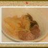 「牛肉と野菜の中華煮込み」の思ひで…