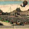 9パリの盛衰 マリー・アントワネットも見学した熱気球