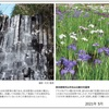 山の自然学カレンダー2021 5月・六方の滝/東京都東村山市北山公園の花菖蒲