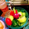 生野菜のライム塩だし漬けサラダ