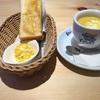 Bモーニング 手作りたまごペースト&コーンスープ@コメダ珈琲 新琴似一番通店