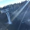 【写真で紹介】シアトル観光の際に行きたいスノコルミーの滝
