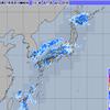 全国的に大雨だが、関東はあまり降らず……