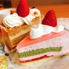 今年も3個ケーキセット@不二家レストラン 福生田園店