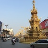 バイクをレンタルしてチェンライ市内を回ってみる