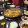 ソウル・新村で卓球やって、プデチゲを食べてきた。