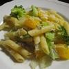イタリア料理レシピ パスター蜜柑、ブロッコリーとしらすのパスタ