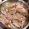 スペアリブとキャベツ、ゴボウの煮込み