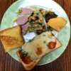 簡単朝食じかん エッグドレッシングサラダ、フレンチトースト、ピザトースト【小さな幸せのひととき】#01