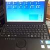 ヤフオク!で中古の Panasonic Let's Note CF-J10SYBHR を買ってみました