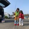 先週末のファミリーフィッシング!🤗釣り場は危険がいっぱい