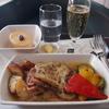 【搭乗記】キャセイパシフィック ビジネスクラス 機内食 台北-香港 CX0475