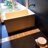 京町家の檜風呂
